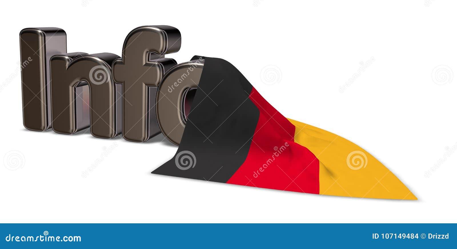 De informatie van Duitsland