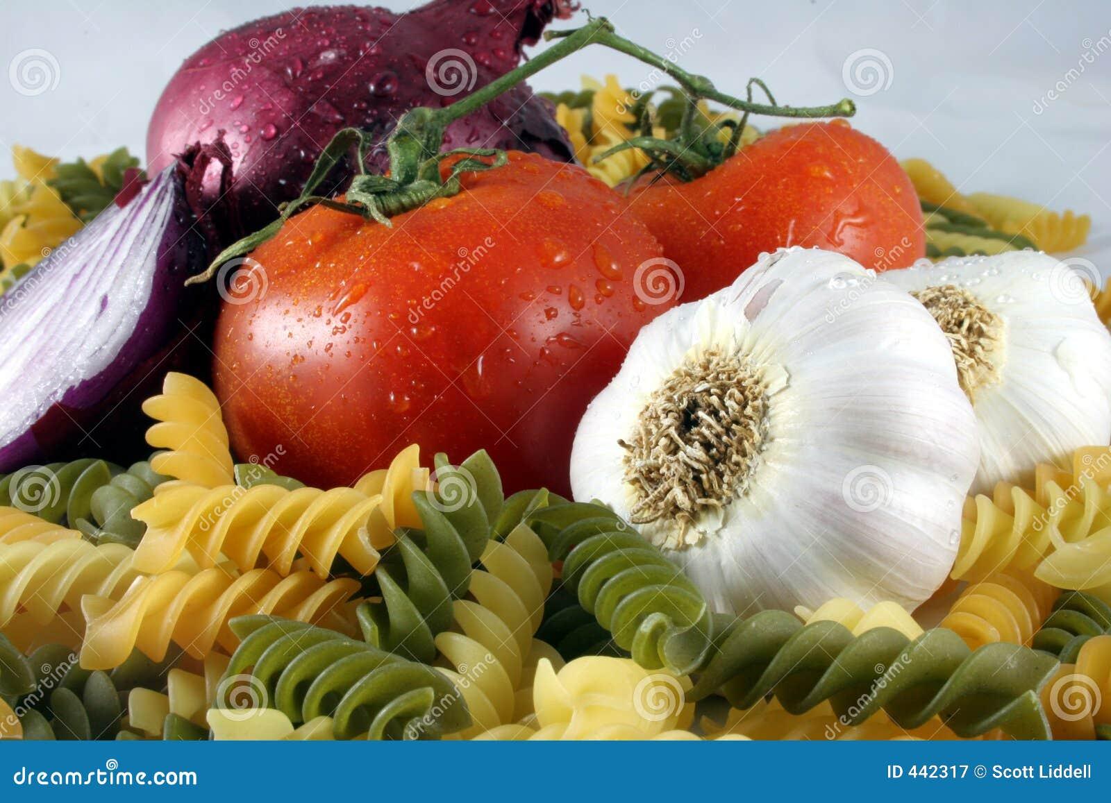 De Ingrediënten van deegwaren