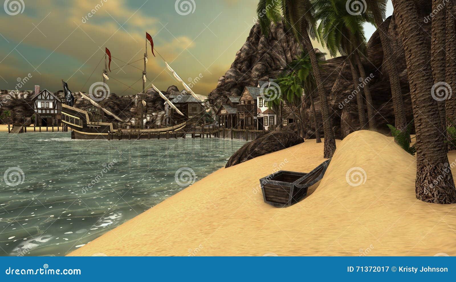 De inham van piraten