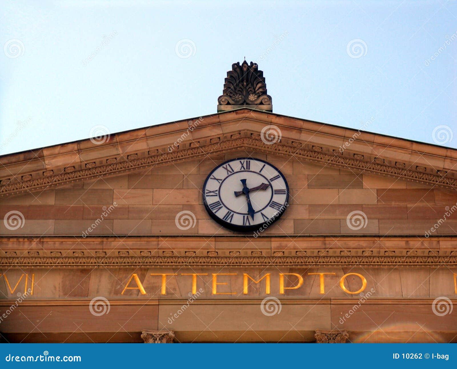 De inschrijving van de klok & van attempto (Irisico het)