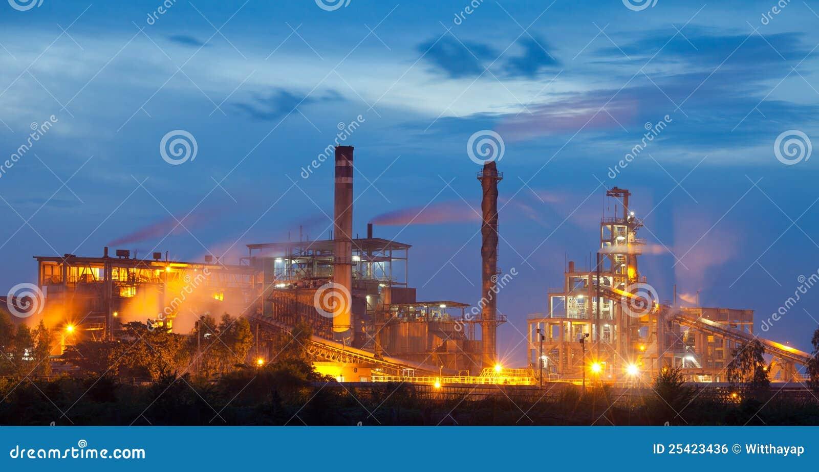 De installatie van de industrie