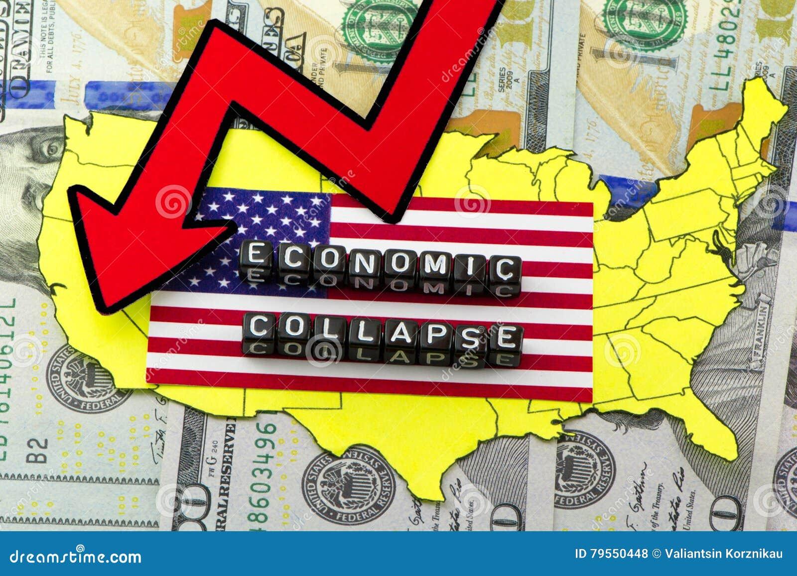 De instorting van de economie