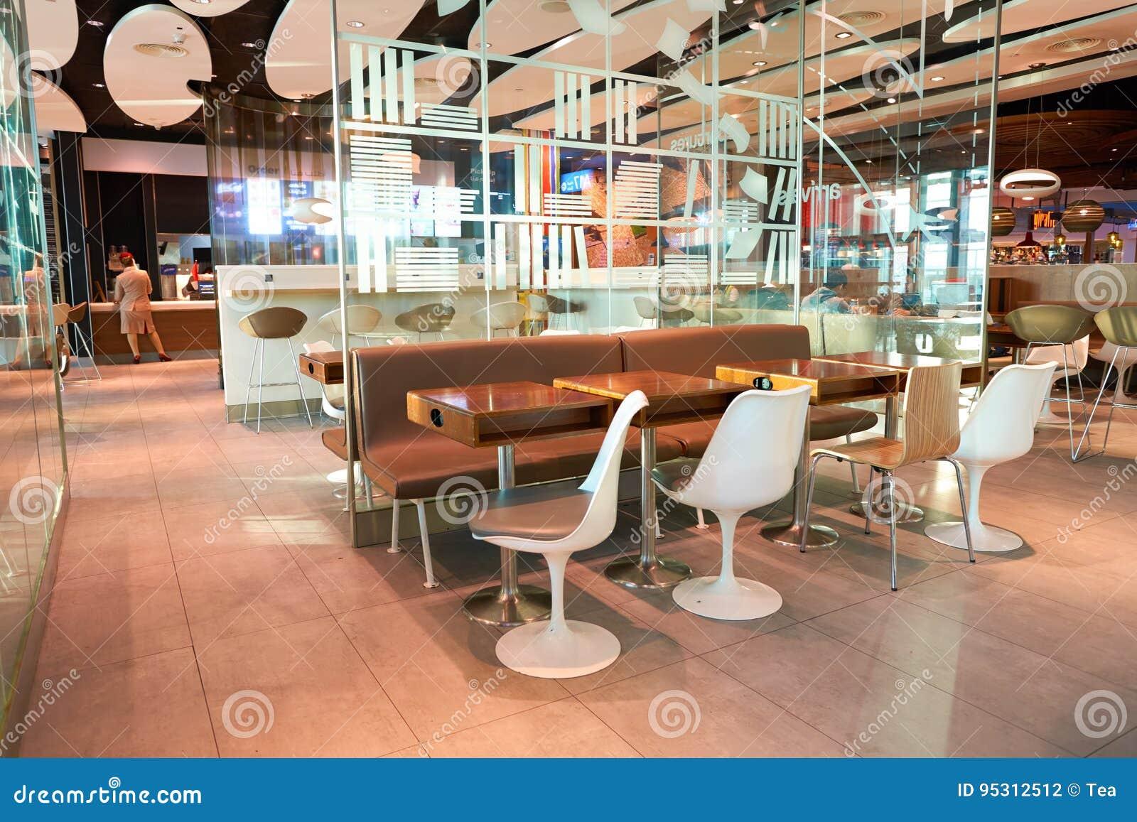 De internationale luchthaven van Doubai