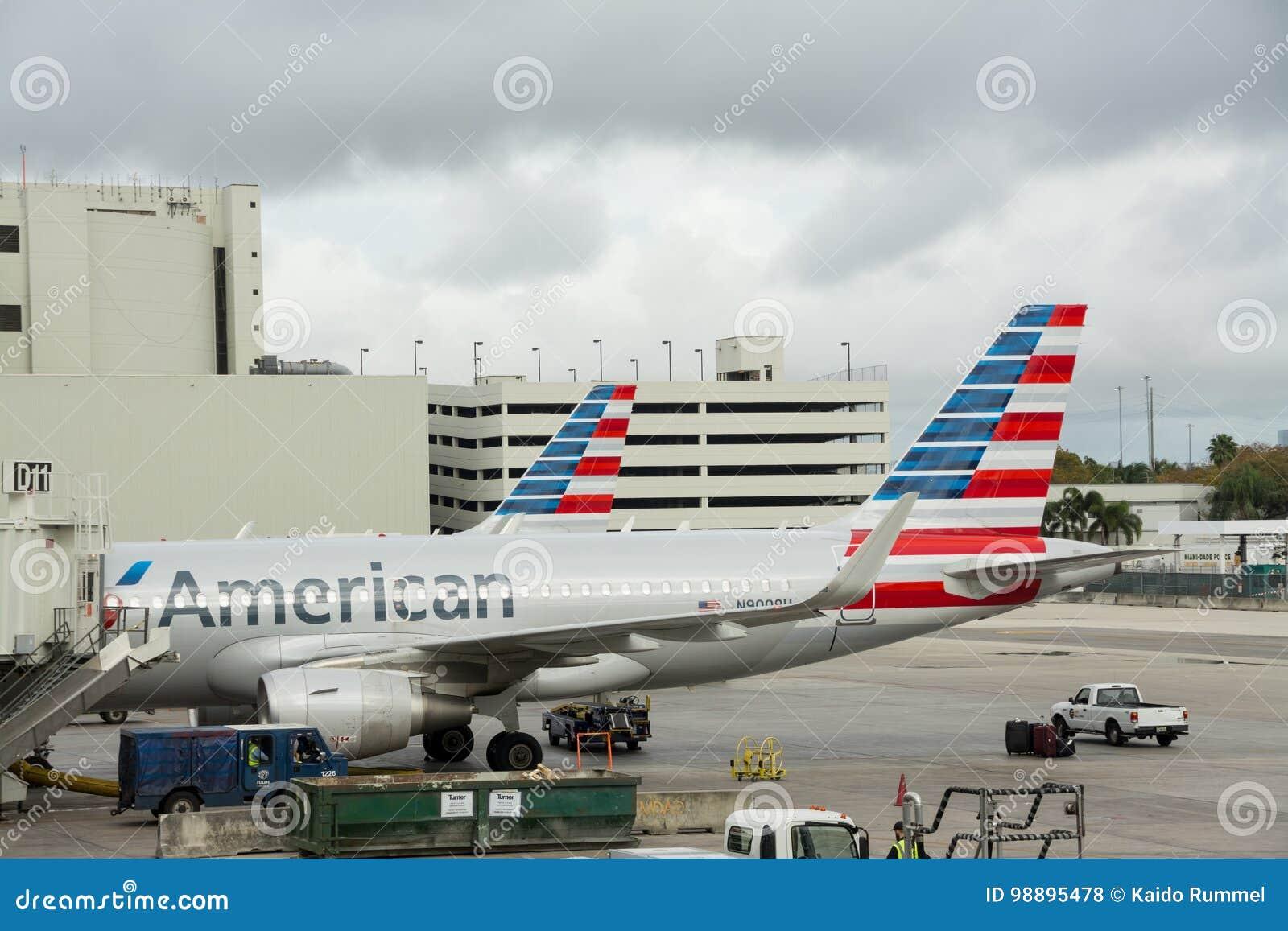 De Internationale luchthaven van Miami