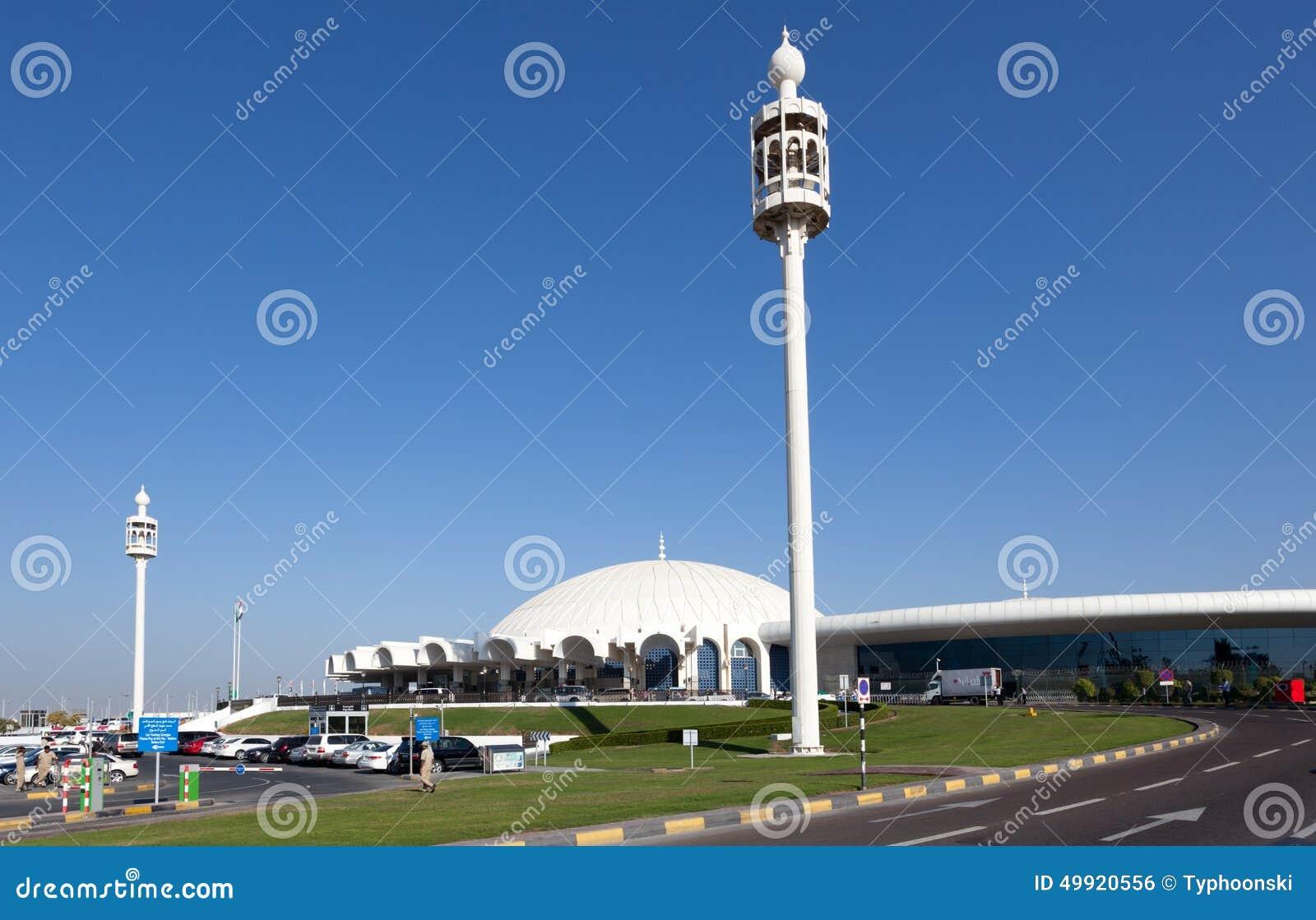 De Internationale Luchthaven van Sharjah