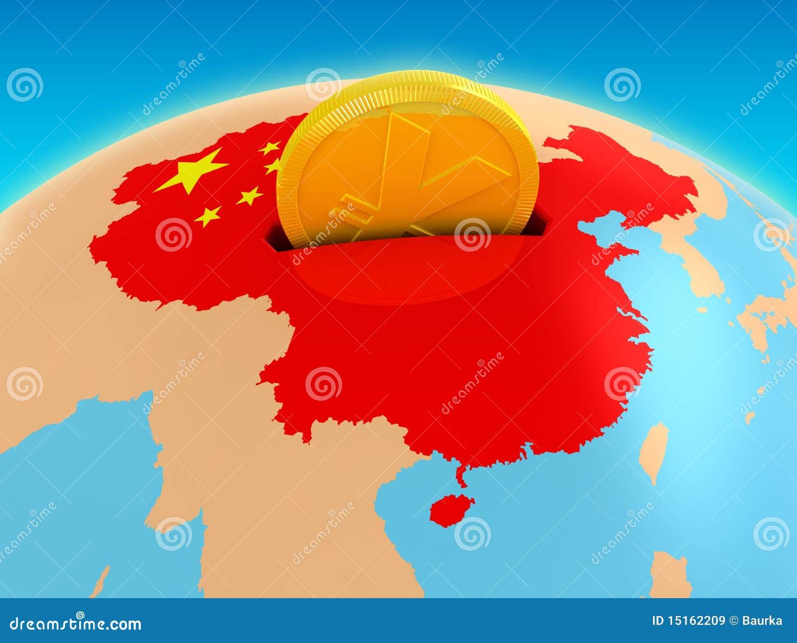 De investering van China