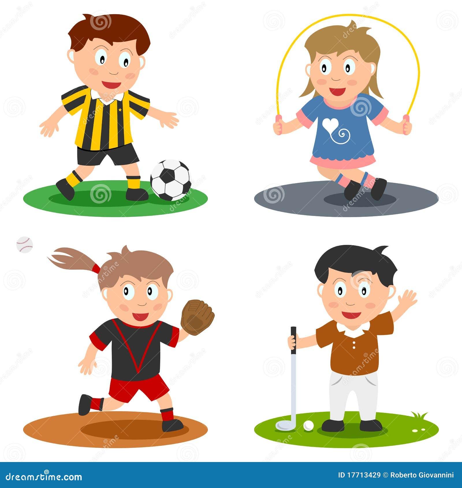 De Inzameling van de Jonge geitjes van de sport [3]