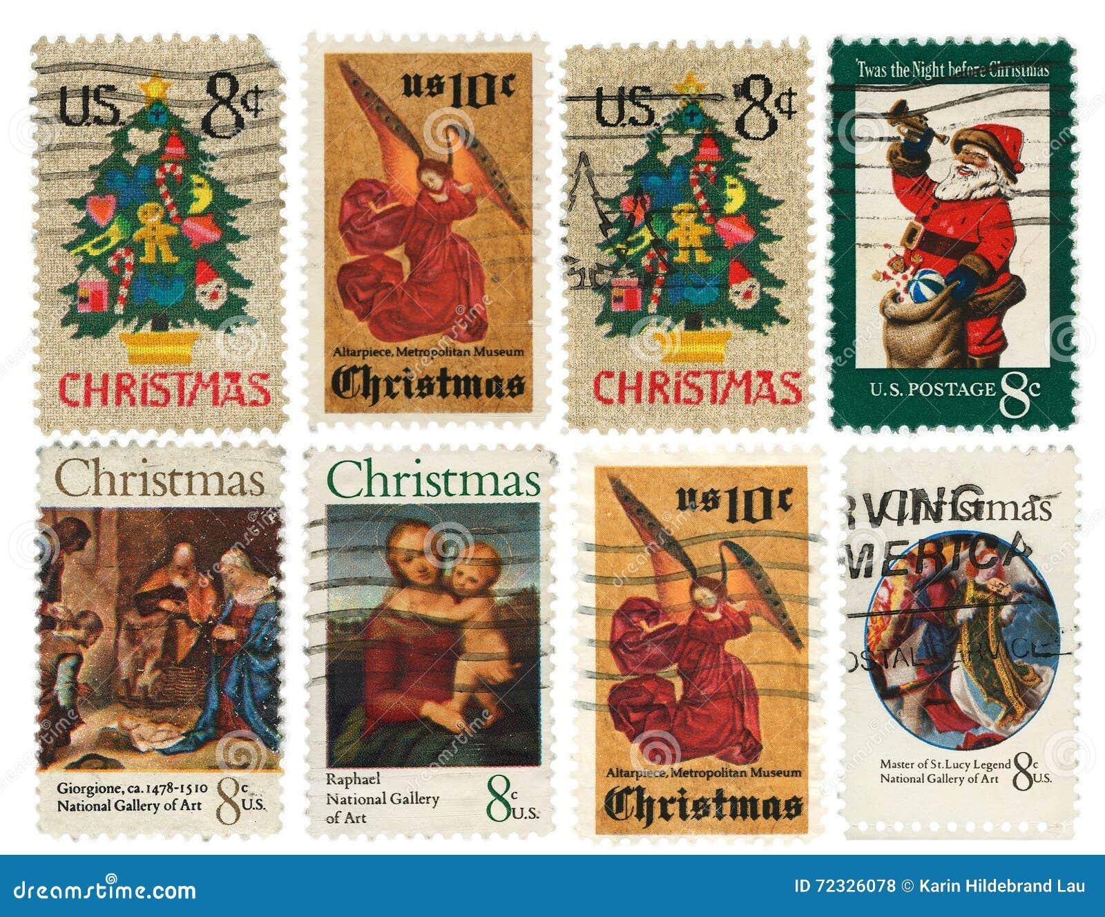 De Inzameling van de Zegels van Kerstmis