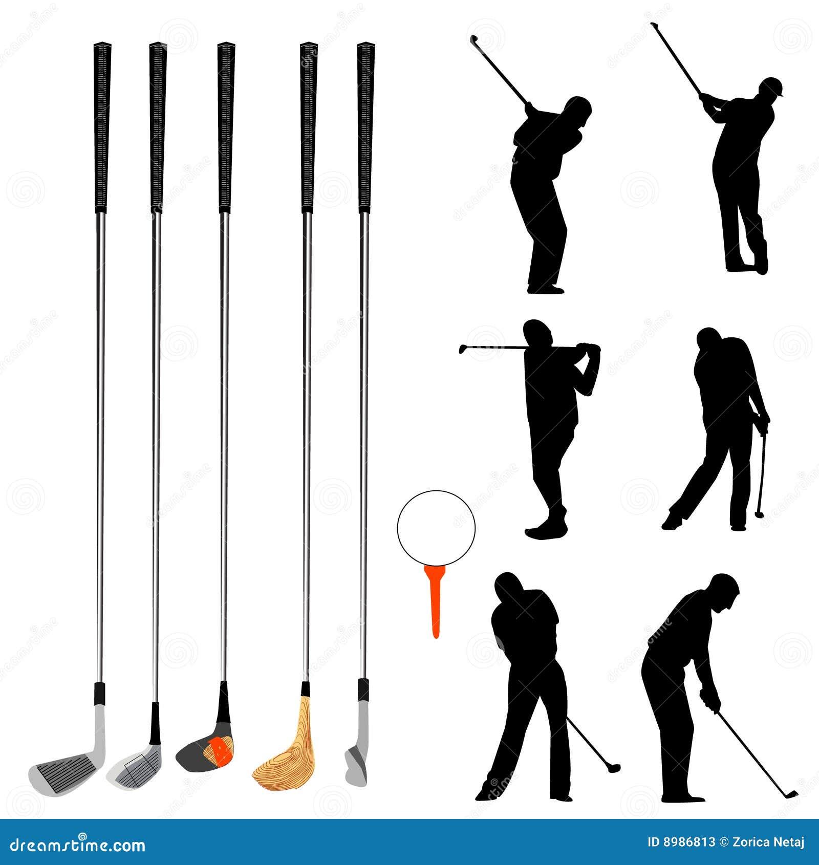 De inzameling van het golf