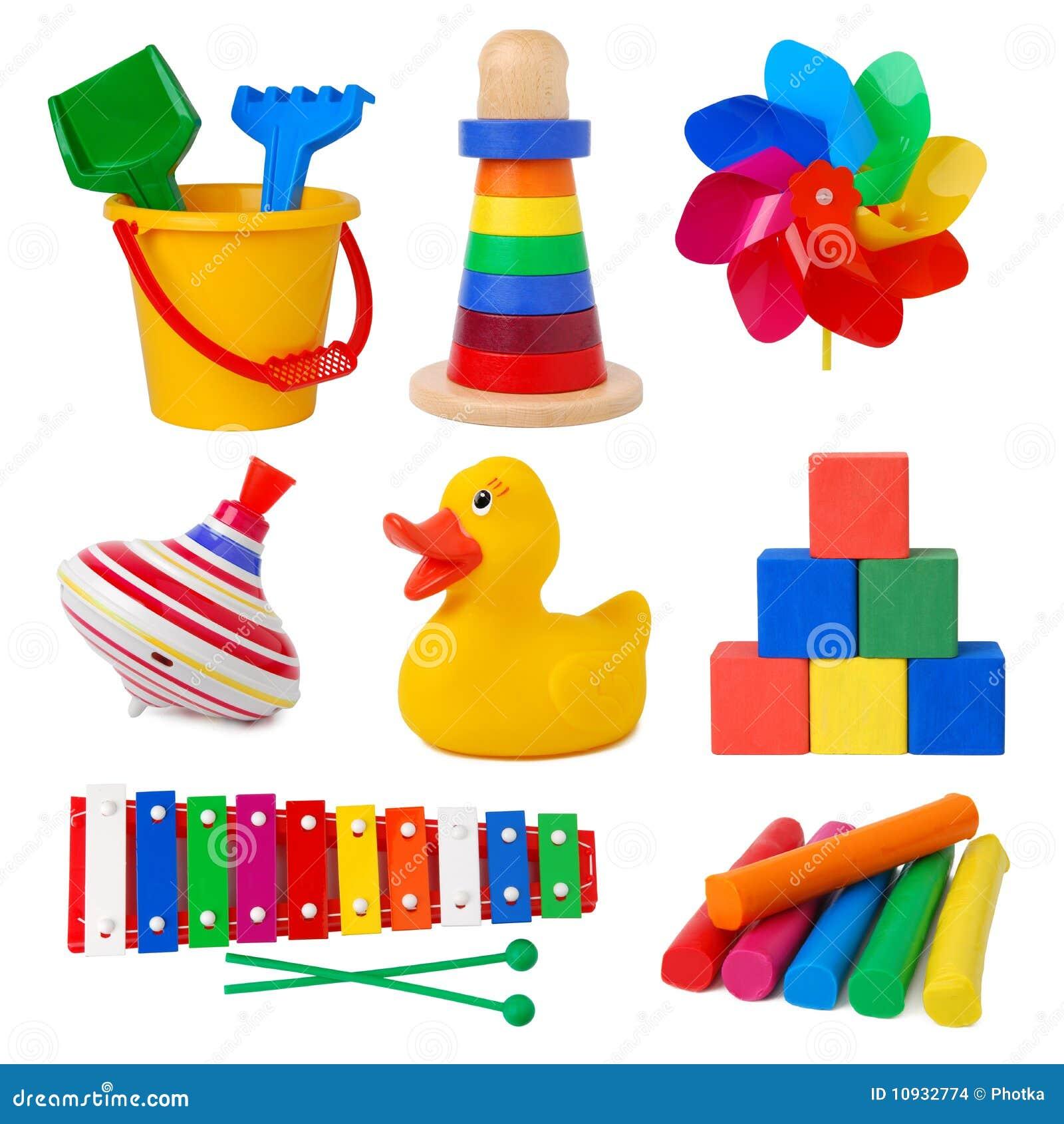 De inzameling van het speelgoed