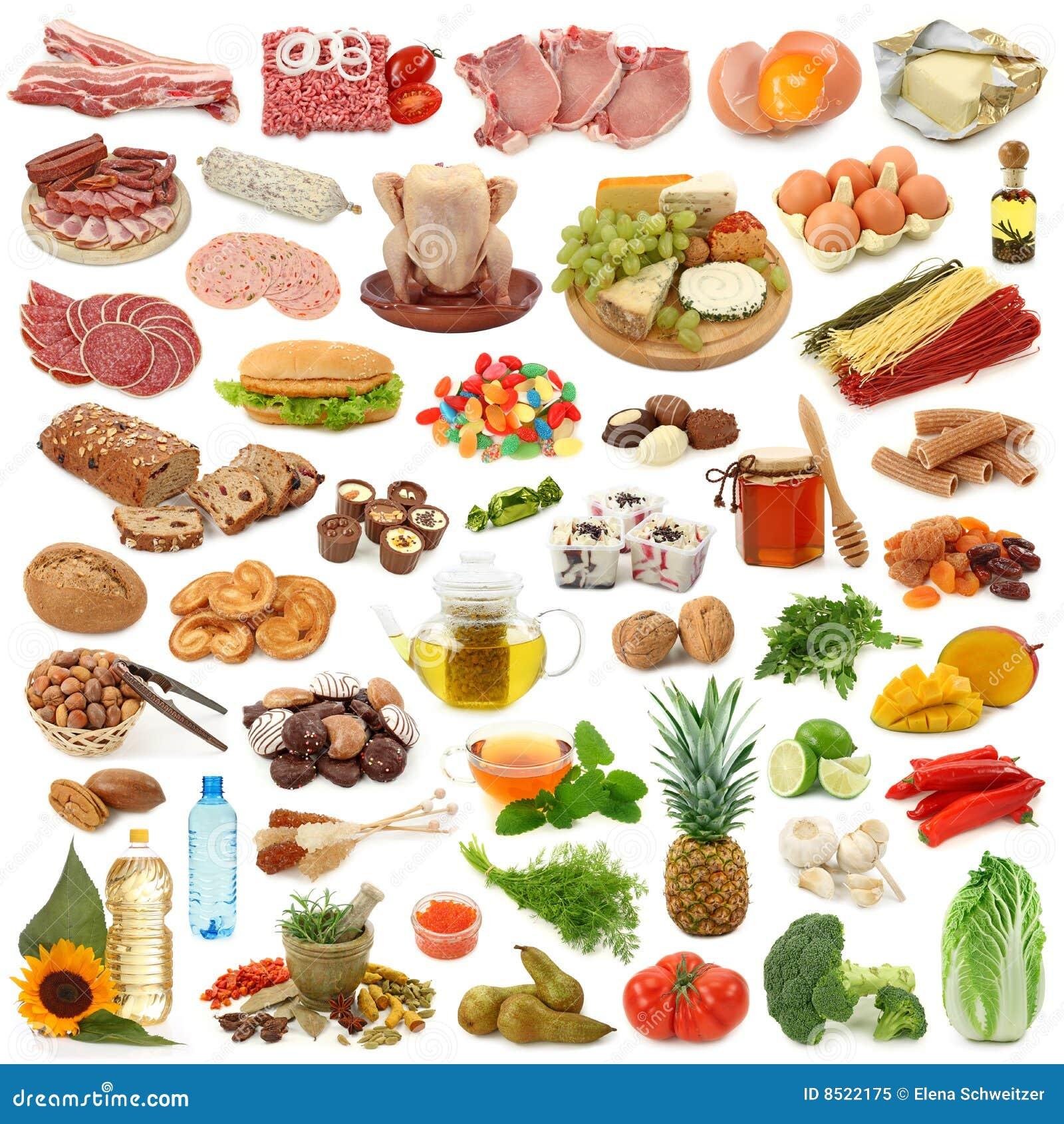 De inzameling van het voedsel