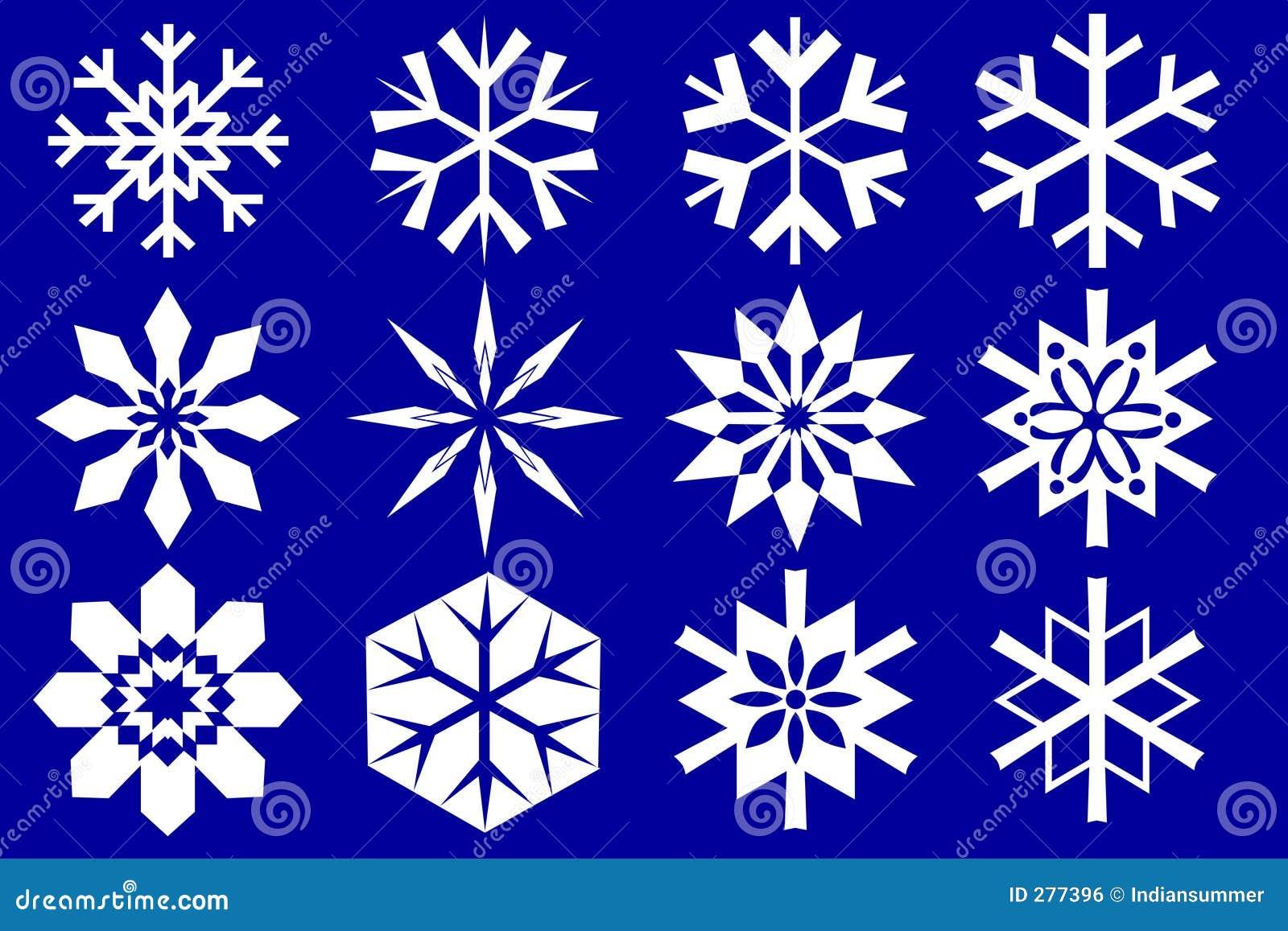 De inzameling van sneeuwvlokken