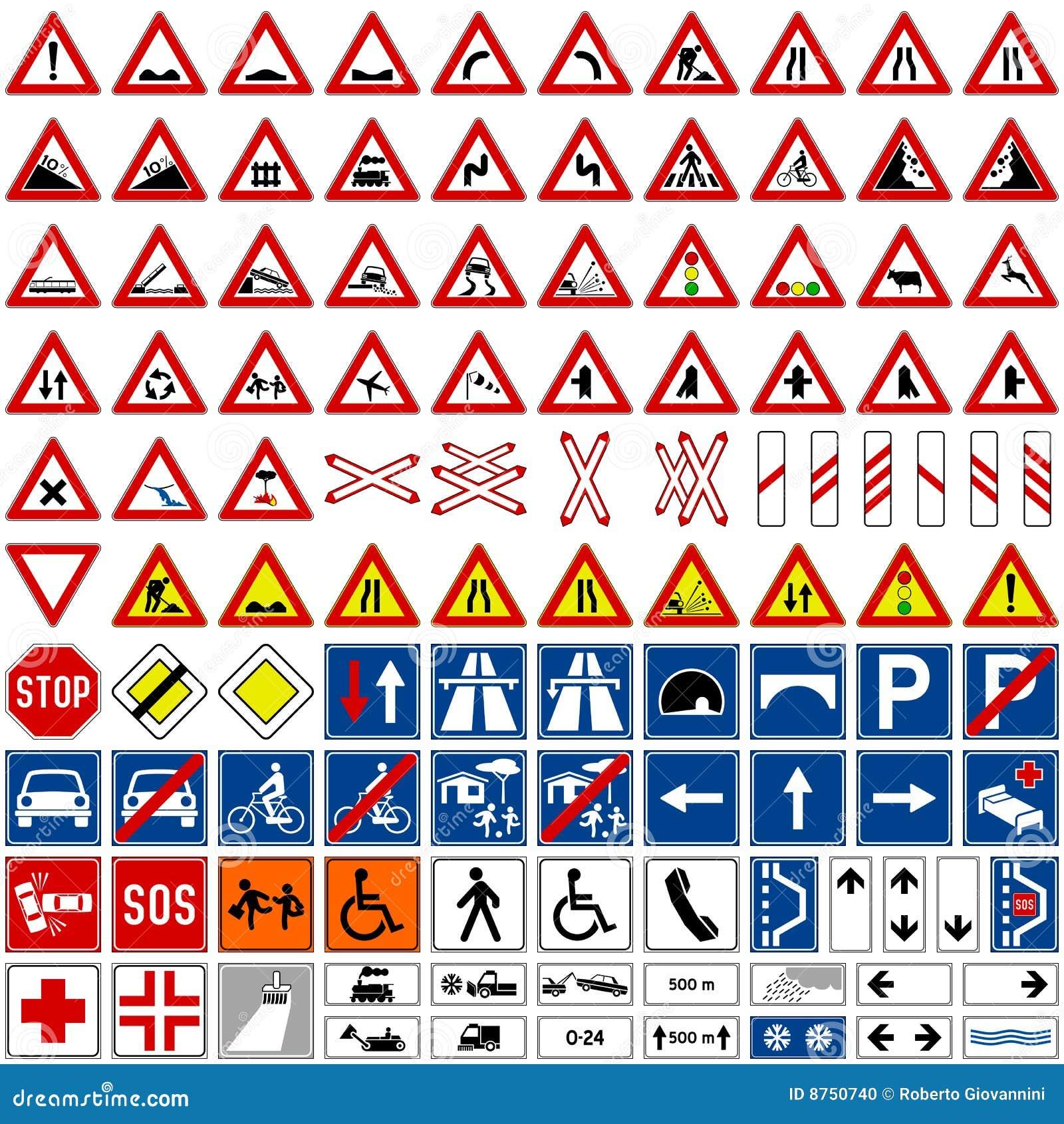 De Inzameling van verkeersteken [1]
