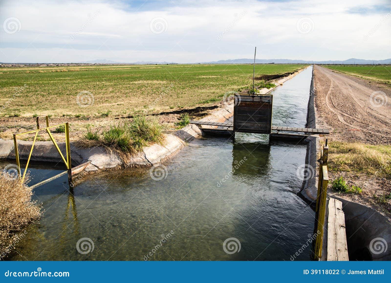 De Irrigatiesloot van Californië