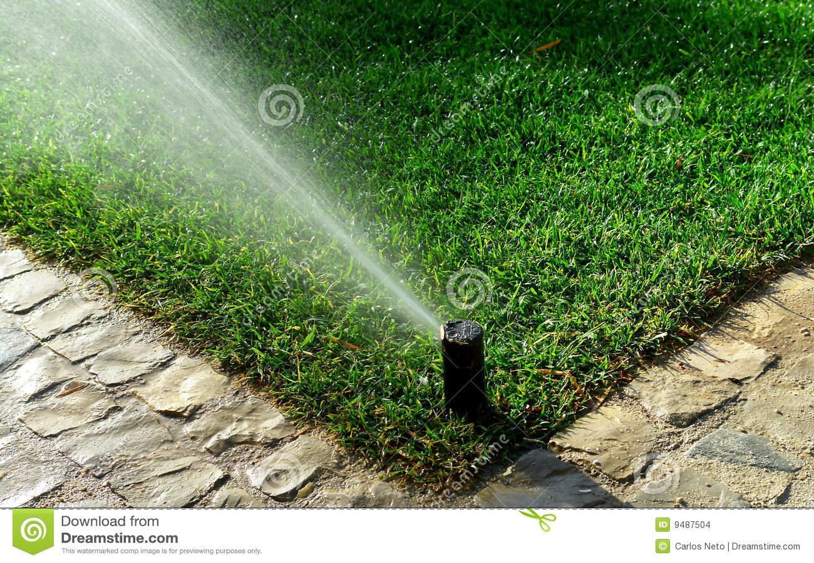 Tuin irrigatiesysteem