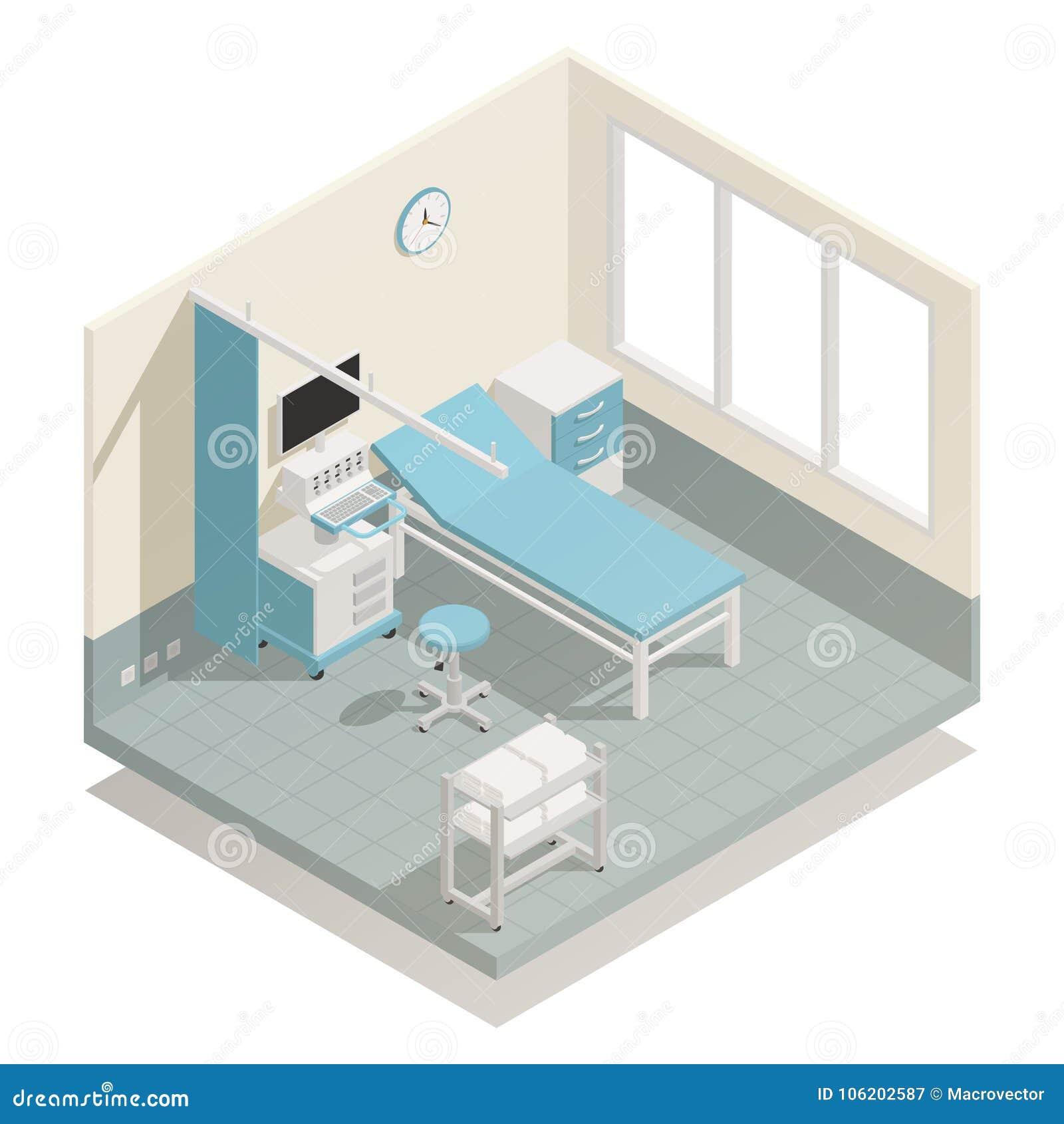 De Isometrische Samenstelling van de het ziekenhuismedische apparatuur