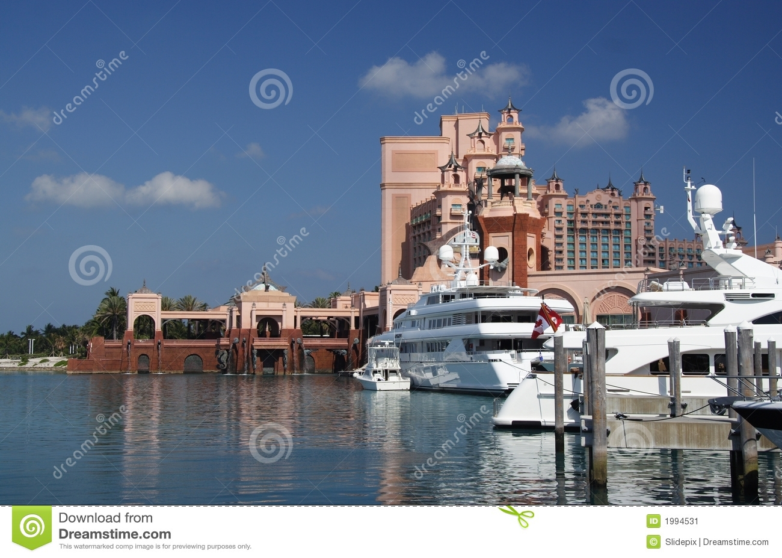 De Jachthaven en de Toevlucht van de luxe