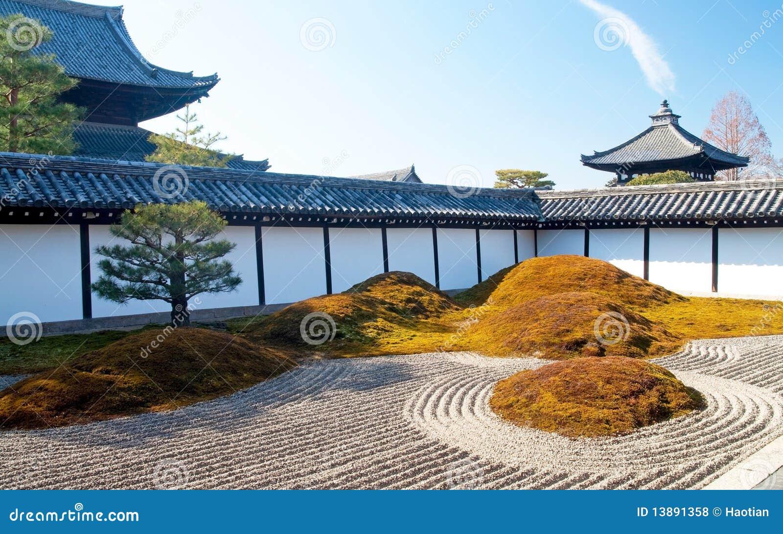 De japanse droge tuin van het landschap royalty vrije stock foto 39 s afbeelding 13891358 - Foto droge tuin ...