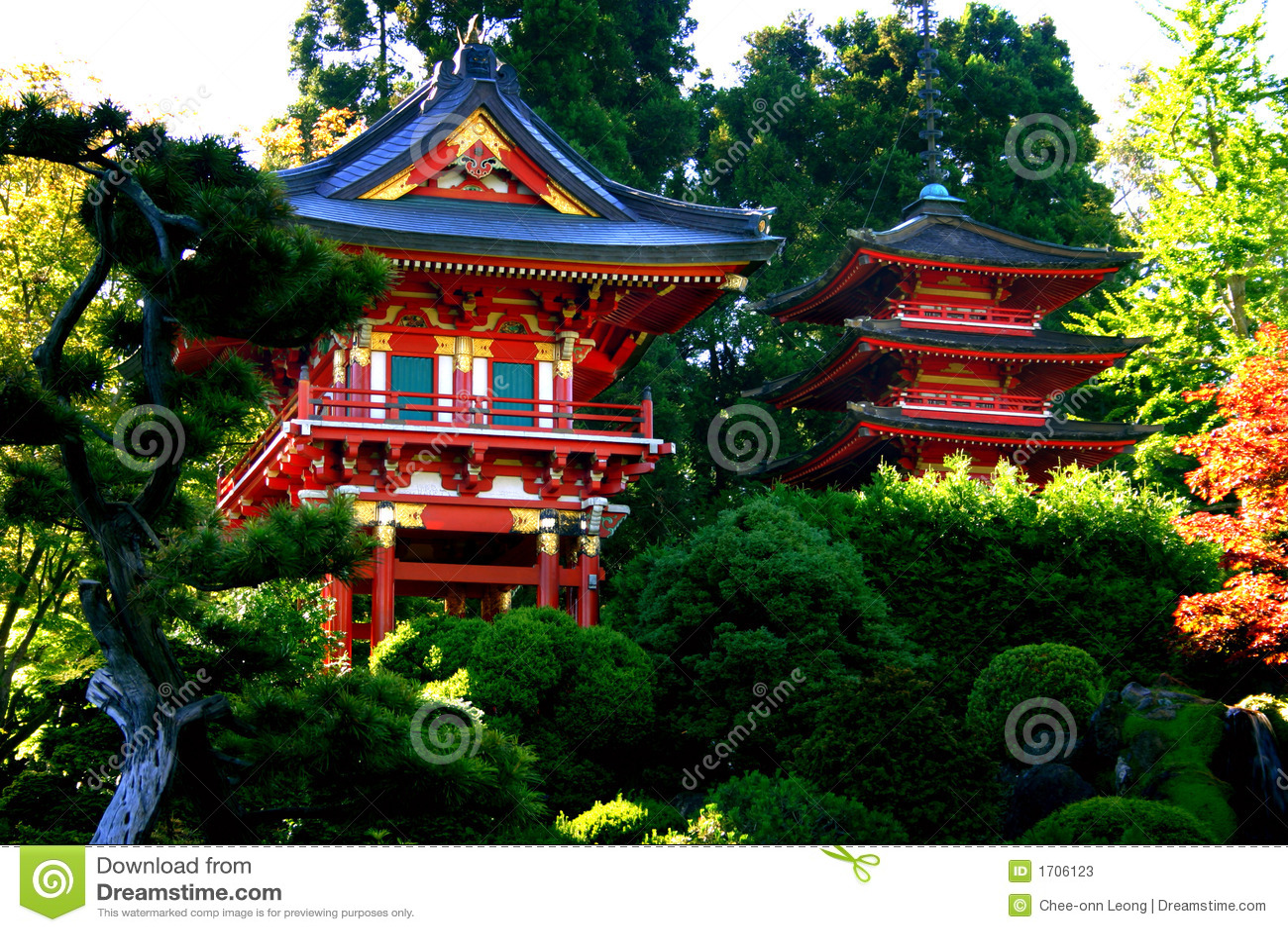 De Japanse Tuin van de Thee, San Francisco