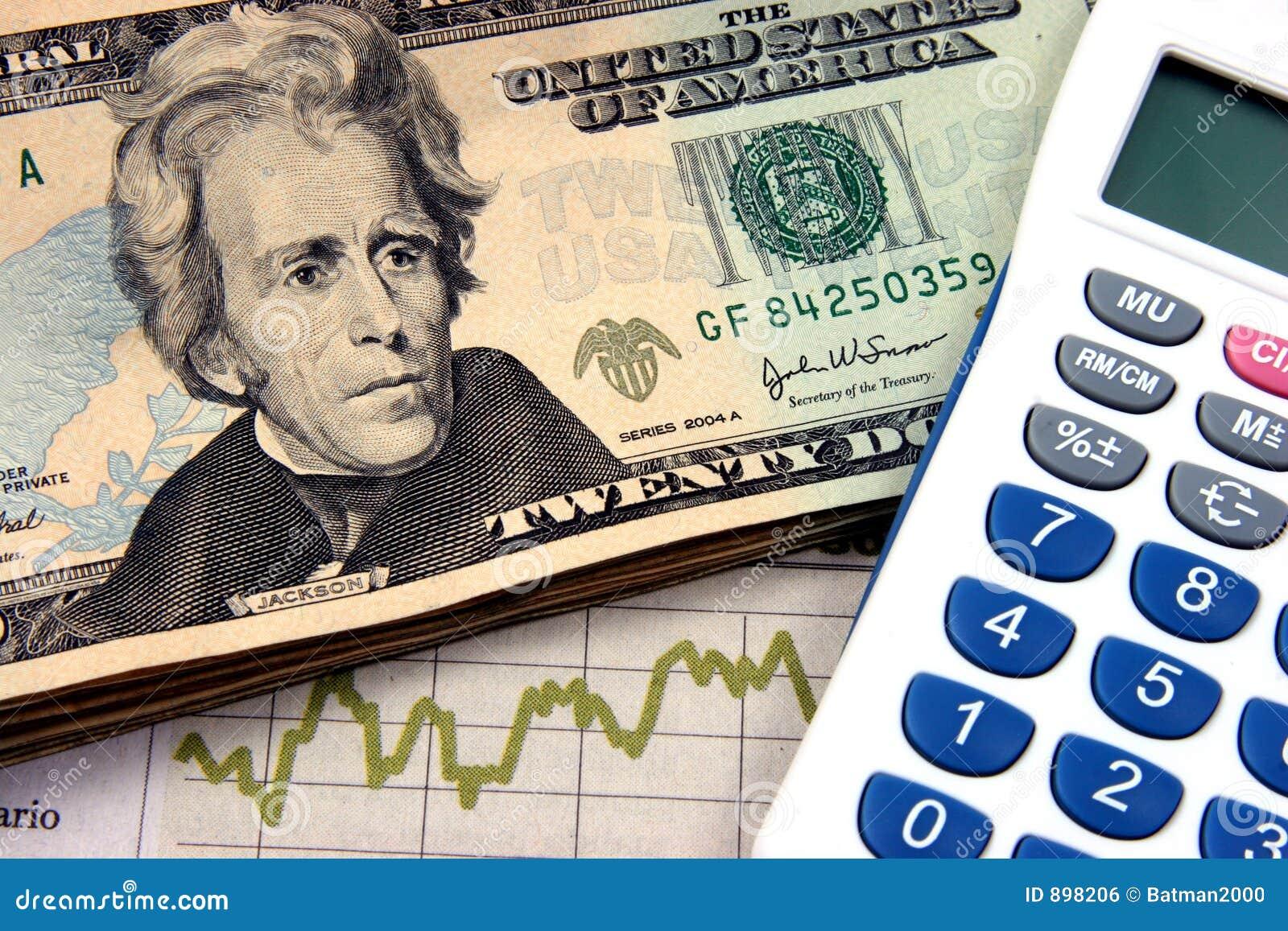 De jaren  20 van de financiële planningscalculator