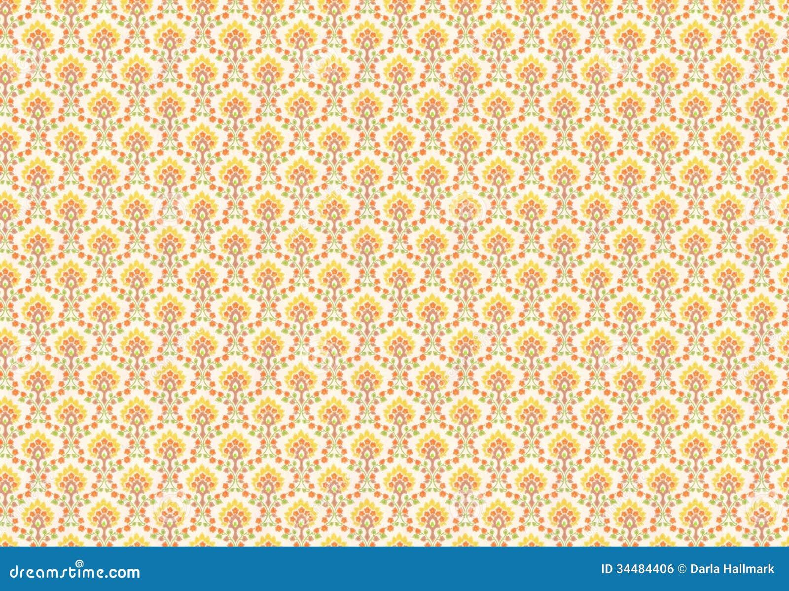 De jaren 39 70behang royalty vrije stock afbeelding beeld 34484406 - Behang van de jaren ...