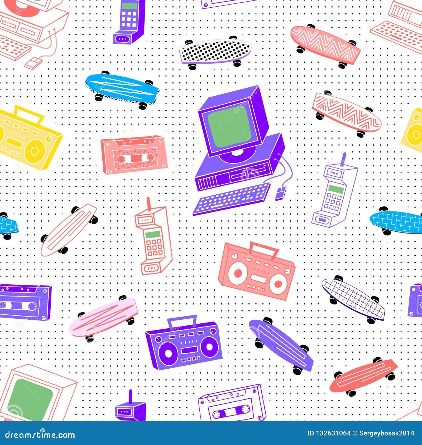 De jaren  80 van patrooncassettes
