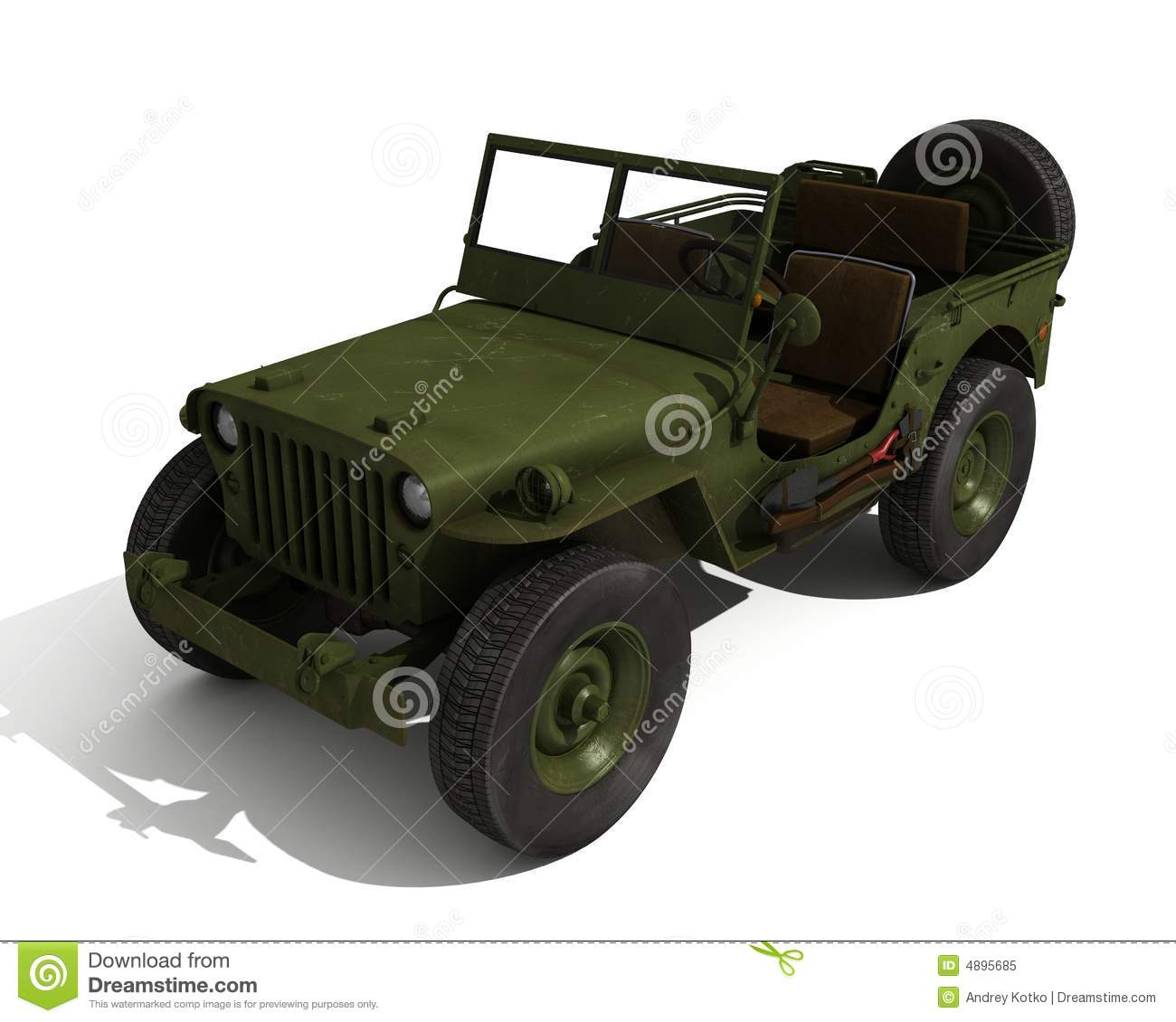 De jeep van Willys