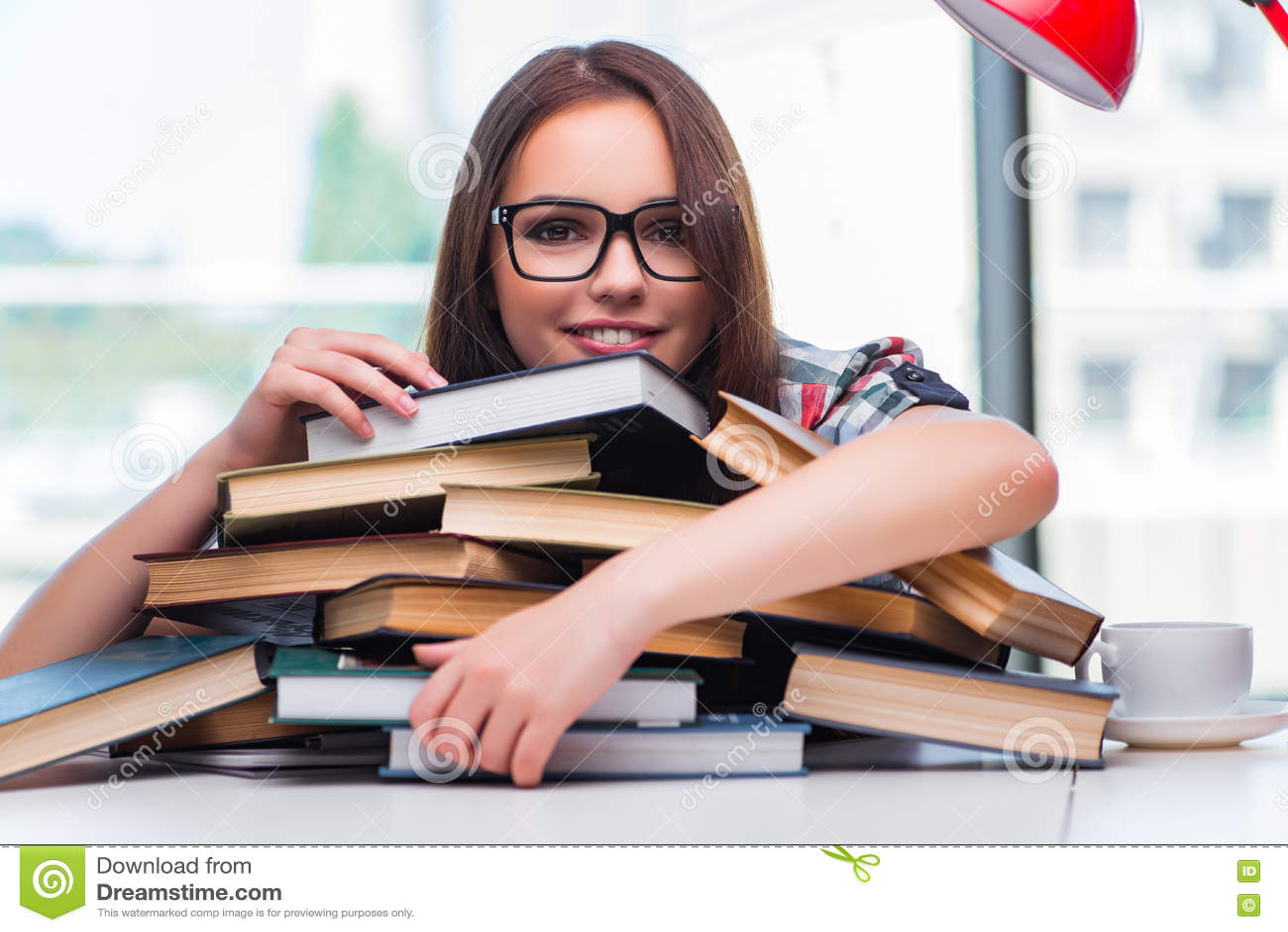 Jonge studente