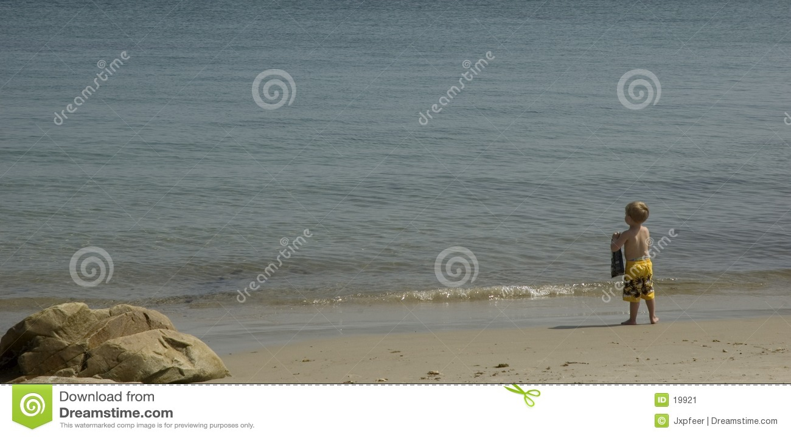 De Jongen van het strand