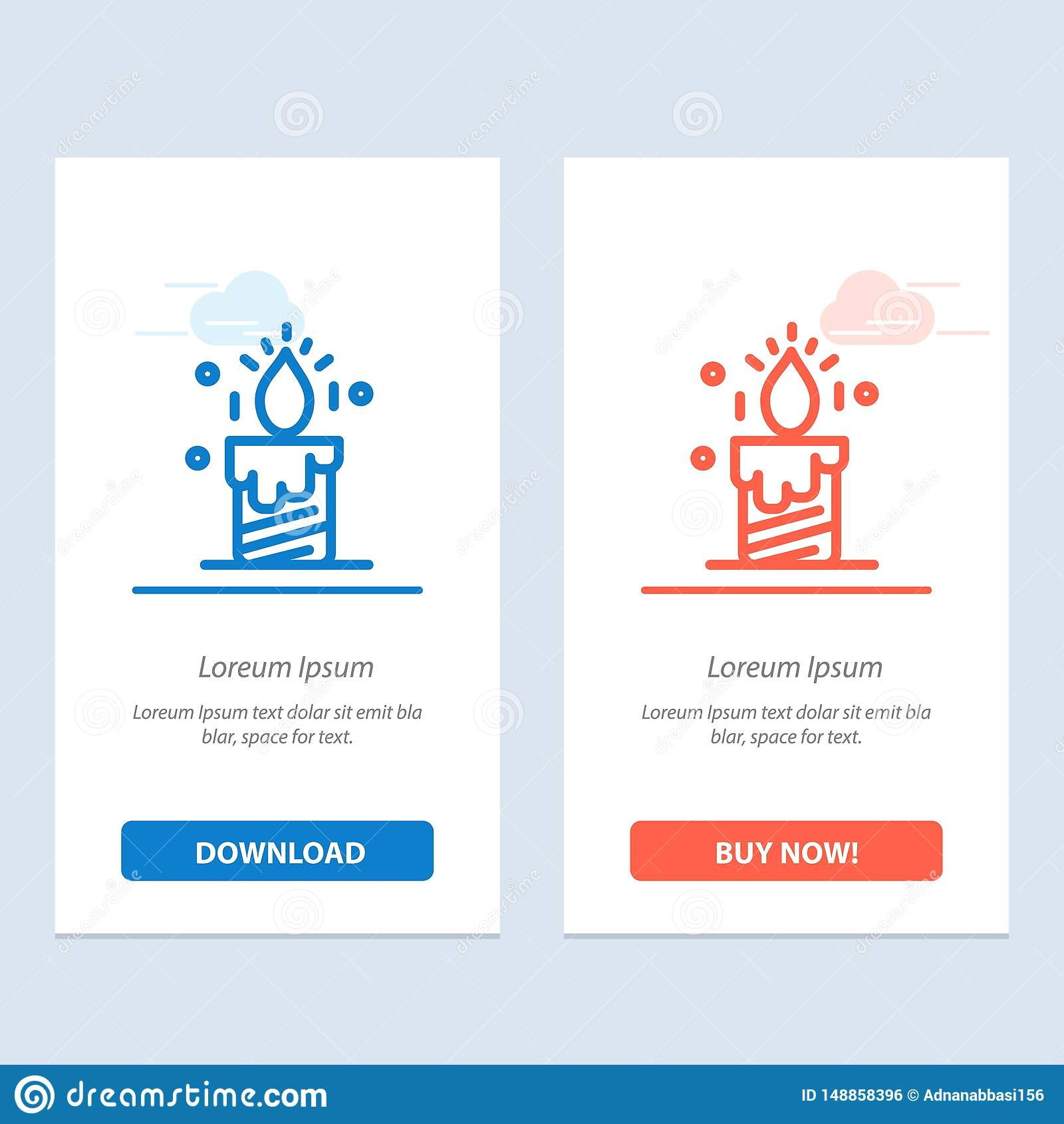 De kaars, Licht, Huwelijk, houdt van Blauwe en Rode Download en koopt nu de Kaartmalplaatje van Webwidget