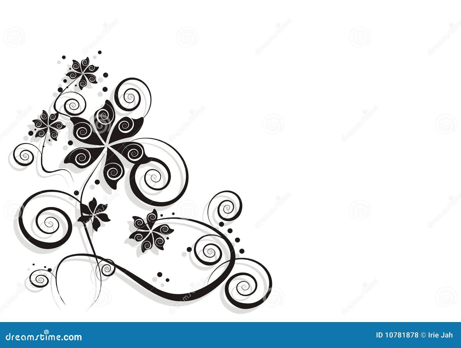De kaart van de bloem