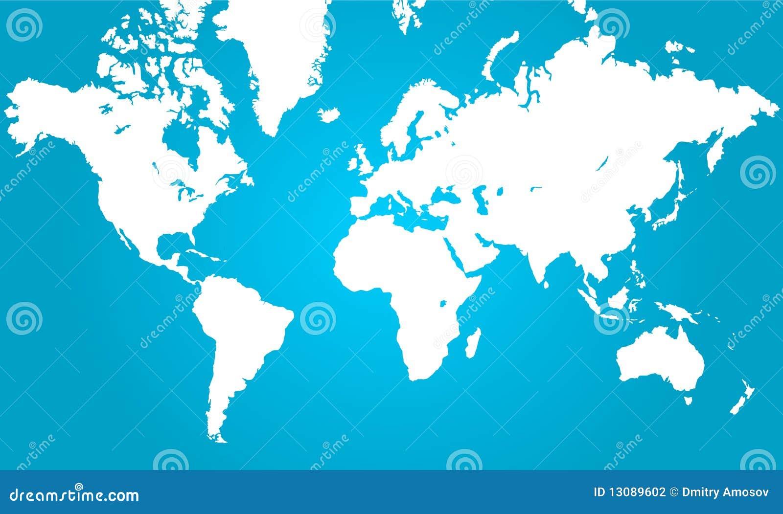 De kaart van de wereld stock fotografie afbeelding 13089602 - Spiegelhuis van de wereld ...
