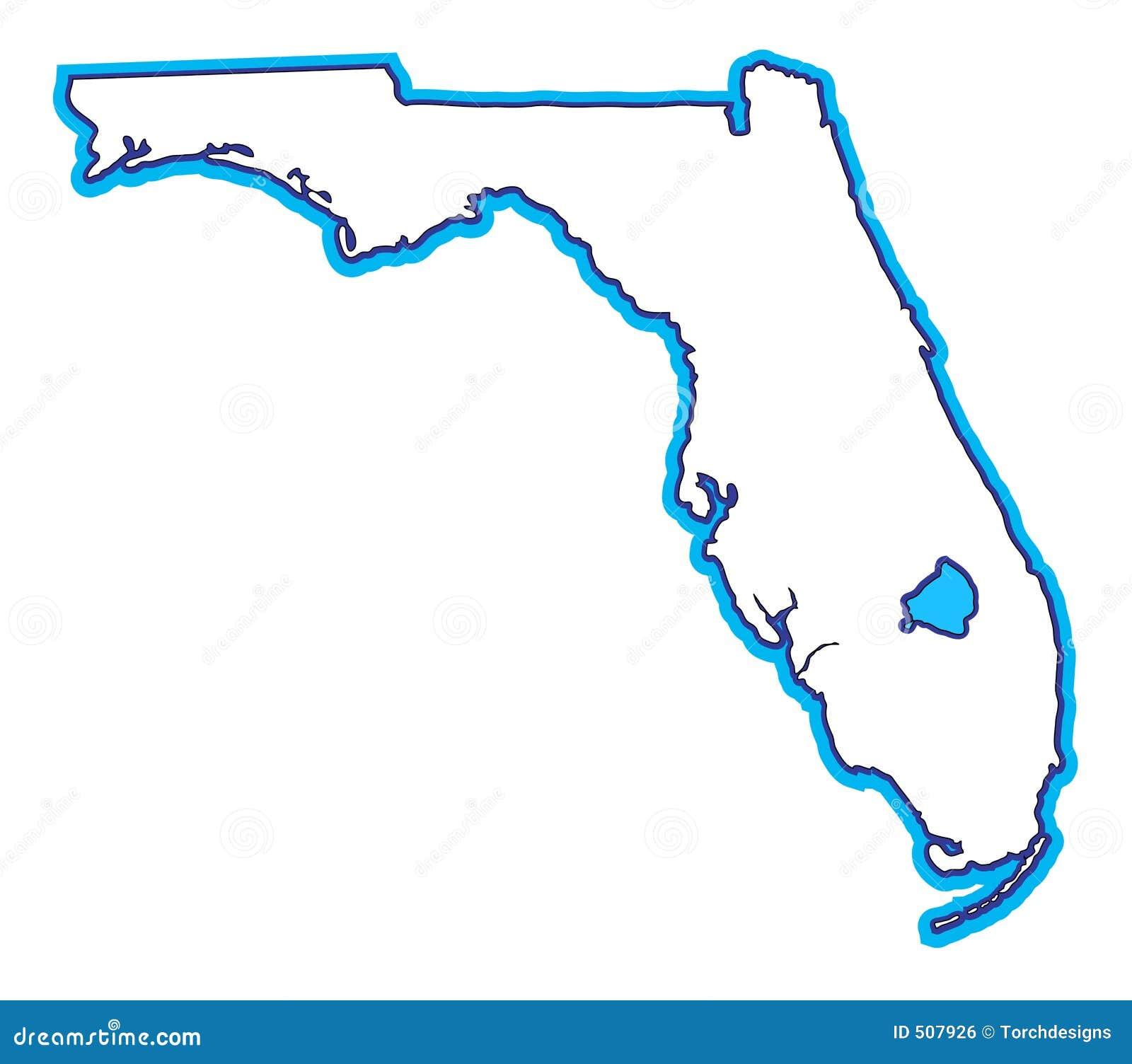De Kaart van Florida