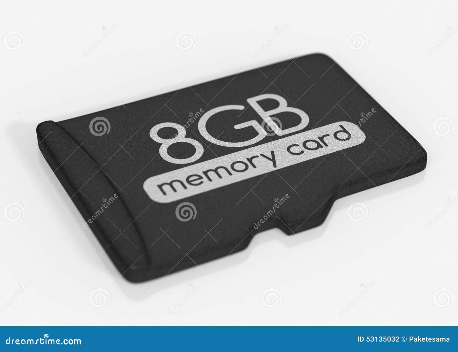 De Kaart van het MicroSDgeheugen