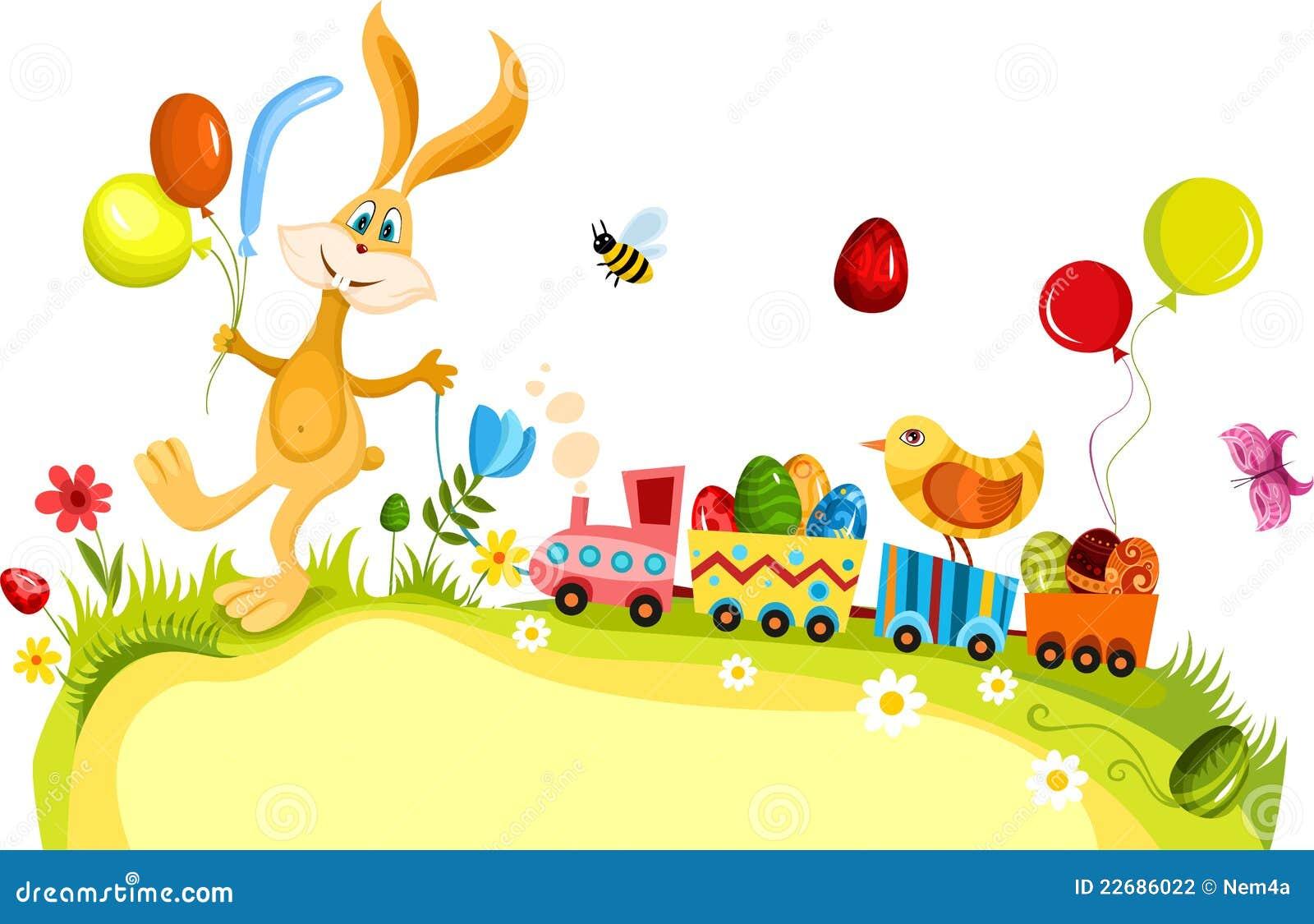 De kaart van Pasen