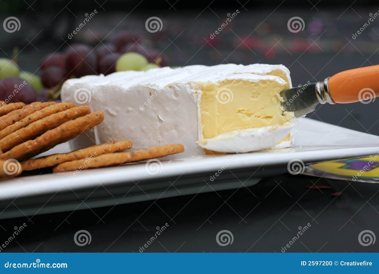 De Kaas van de camembert op Schotel