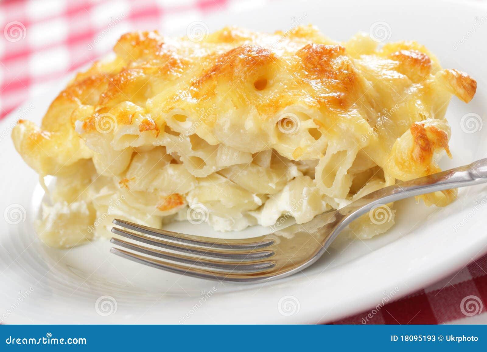 De kaas van de macaroni