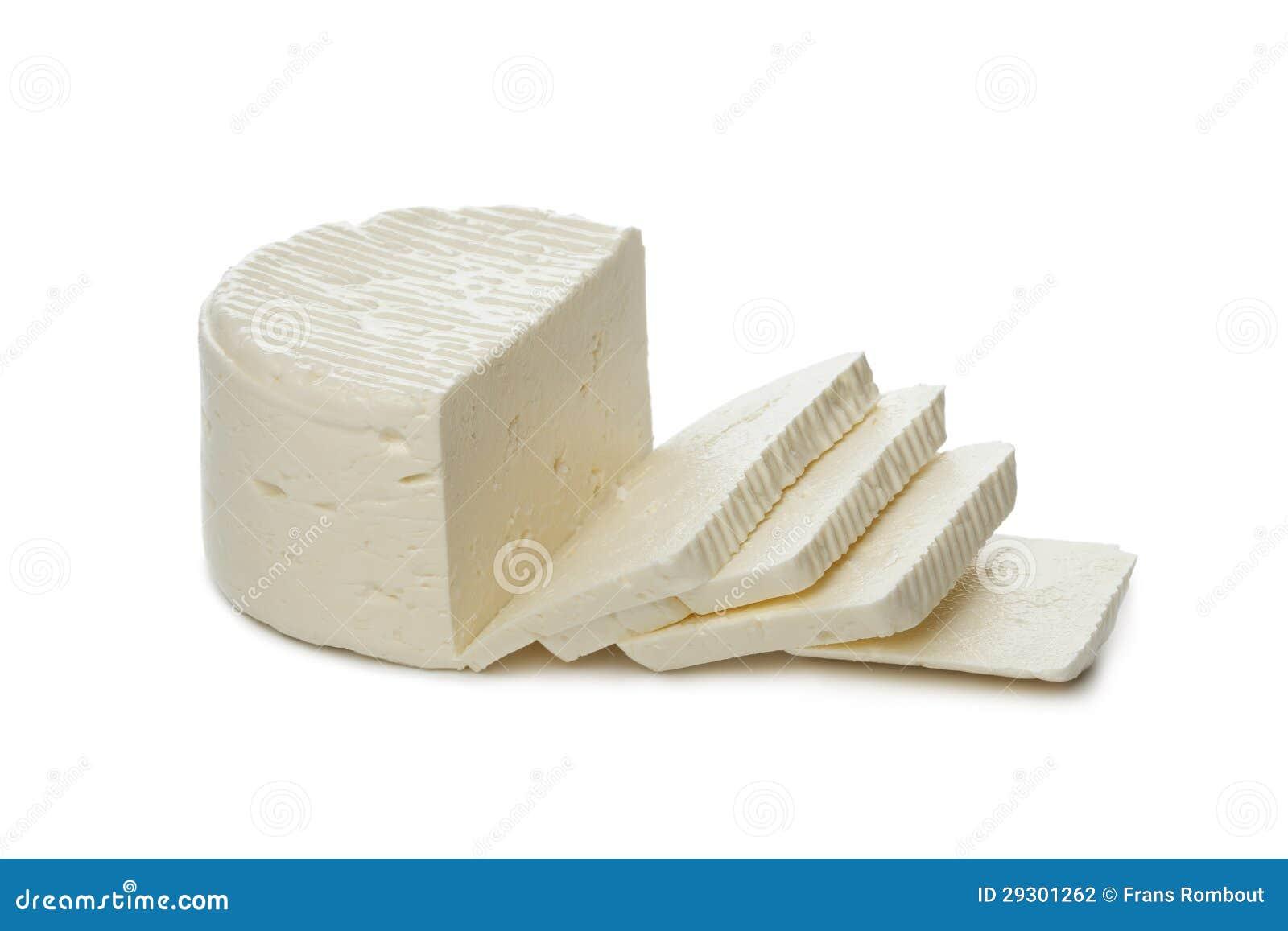 De kaas van feta van schapenmelk