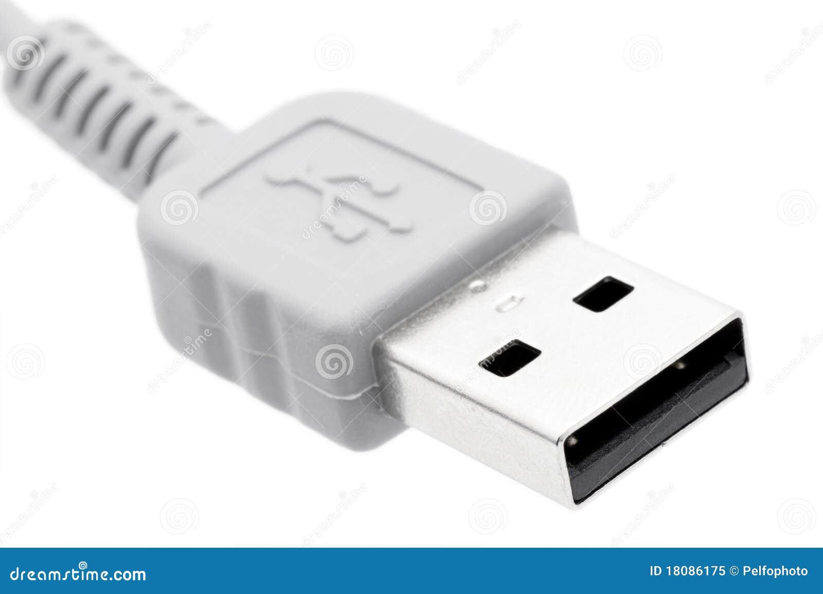 De kabel van de computer USB.