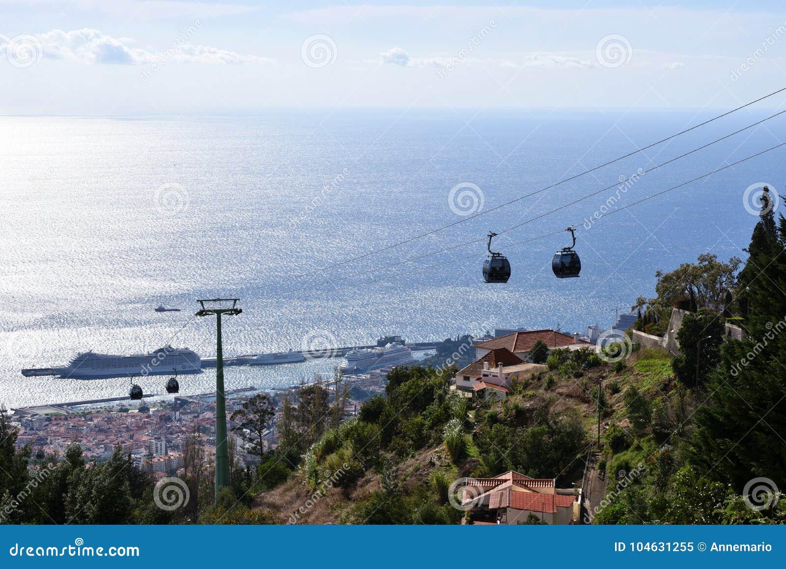 Download De Kabelwagen Van Funchal, Madera Redactionele Afbeelding - Afbeelding bestaande uit reis, bezoek: 104631255