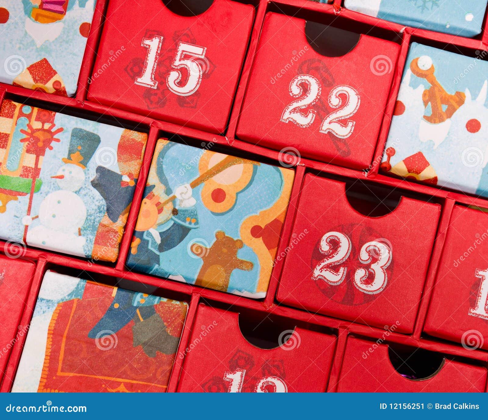 De kalender van de komst