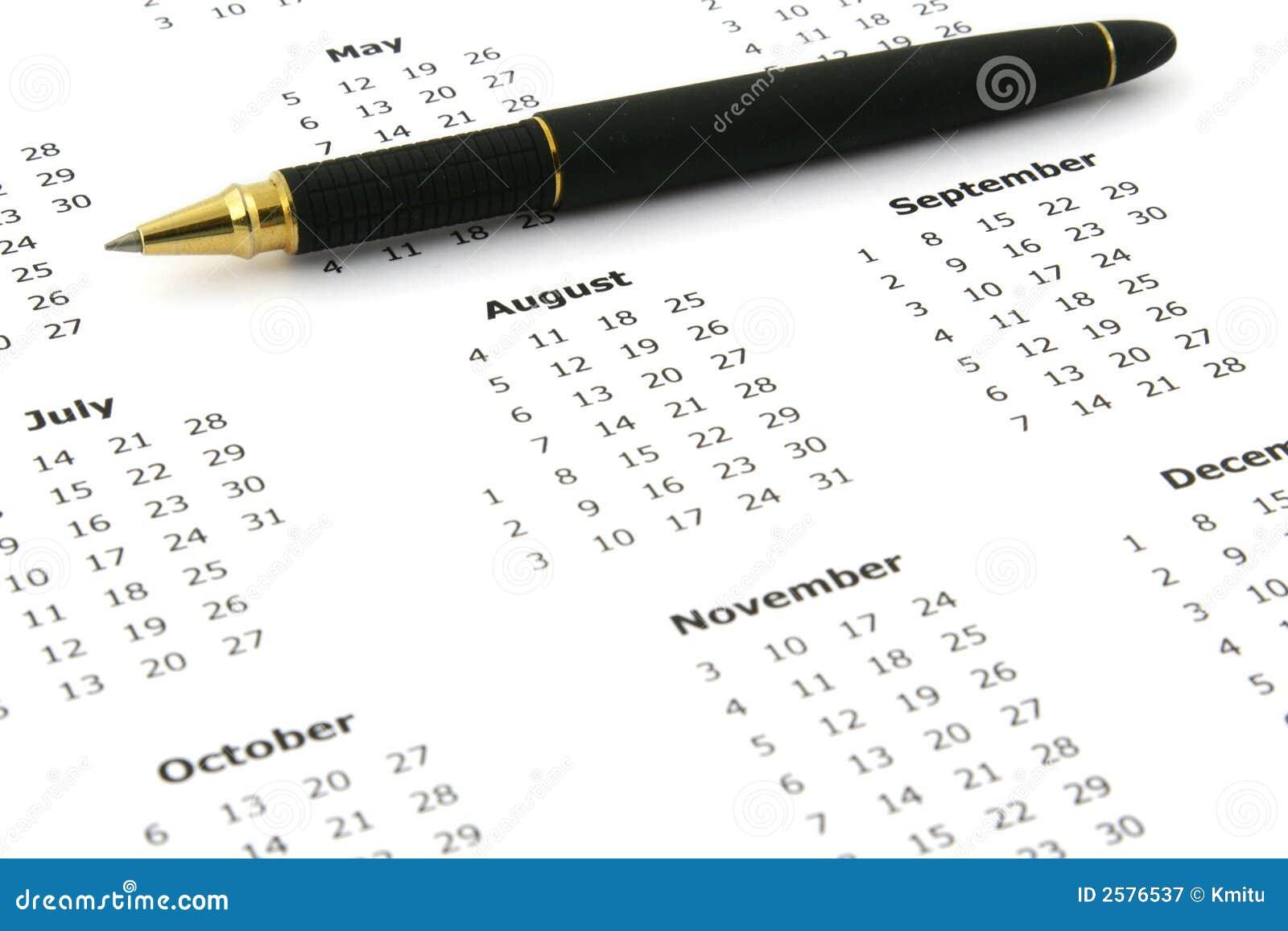 De kalender van het jaar 2008 #2