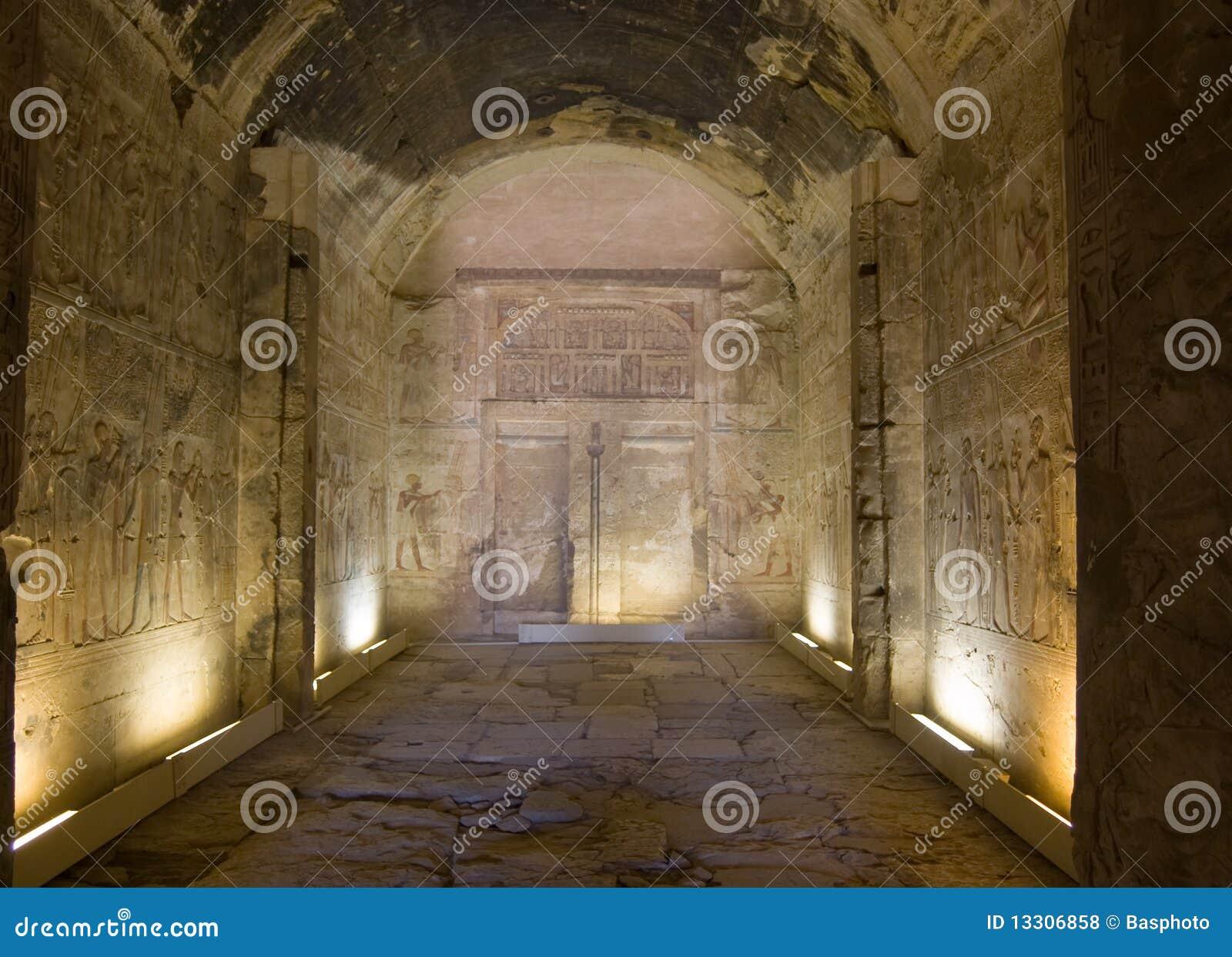 De Kapel van Amun, Tempel van Abydos