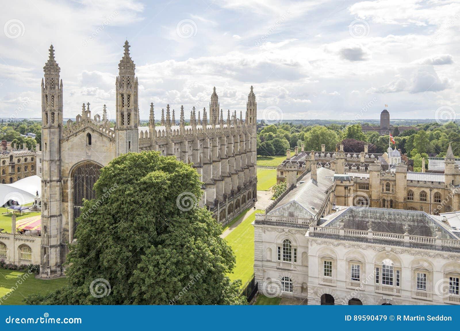 De Kapel van de konings` s Universiteit, Cambridge