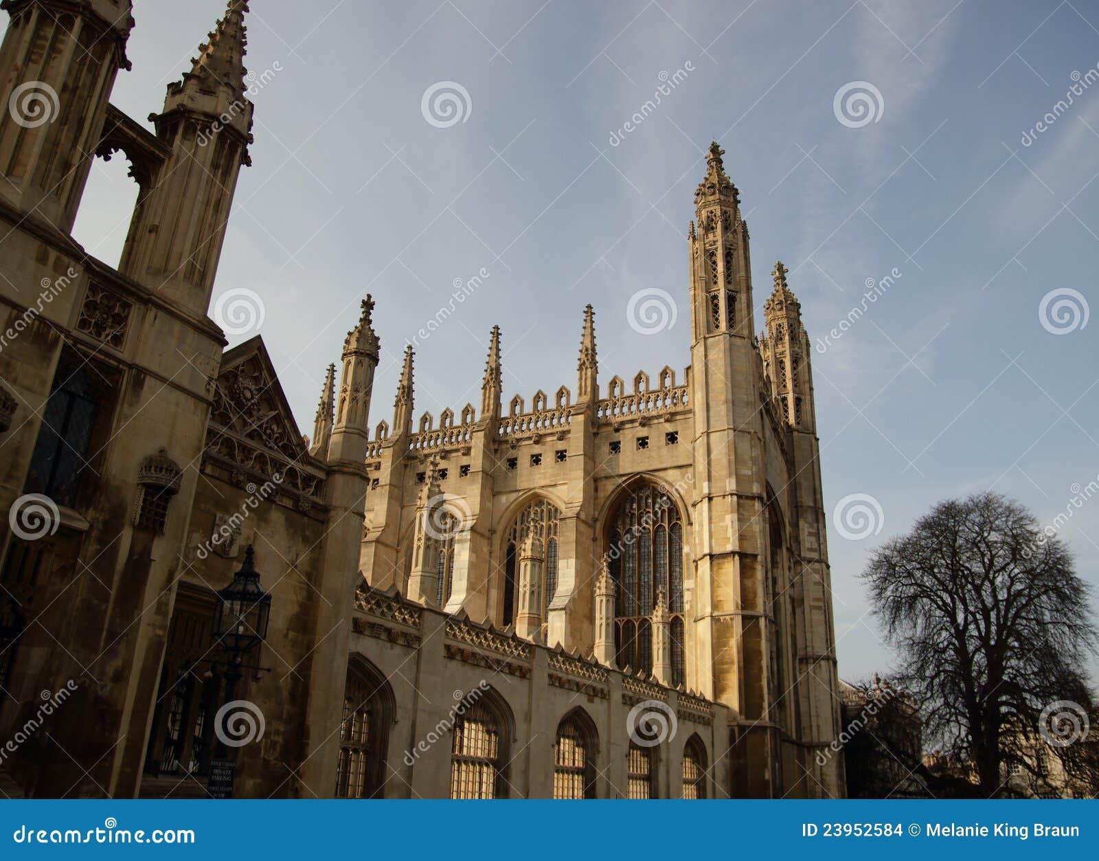 De Kapel van de Universiteit van koningen, het Verenigd Koninkrijk