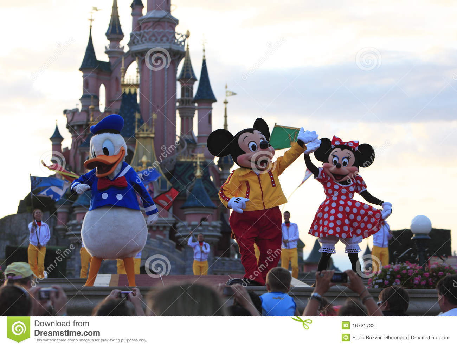 De karakters van Disney