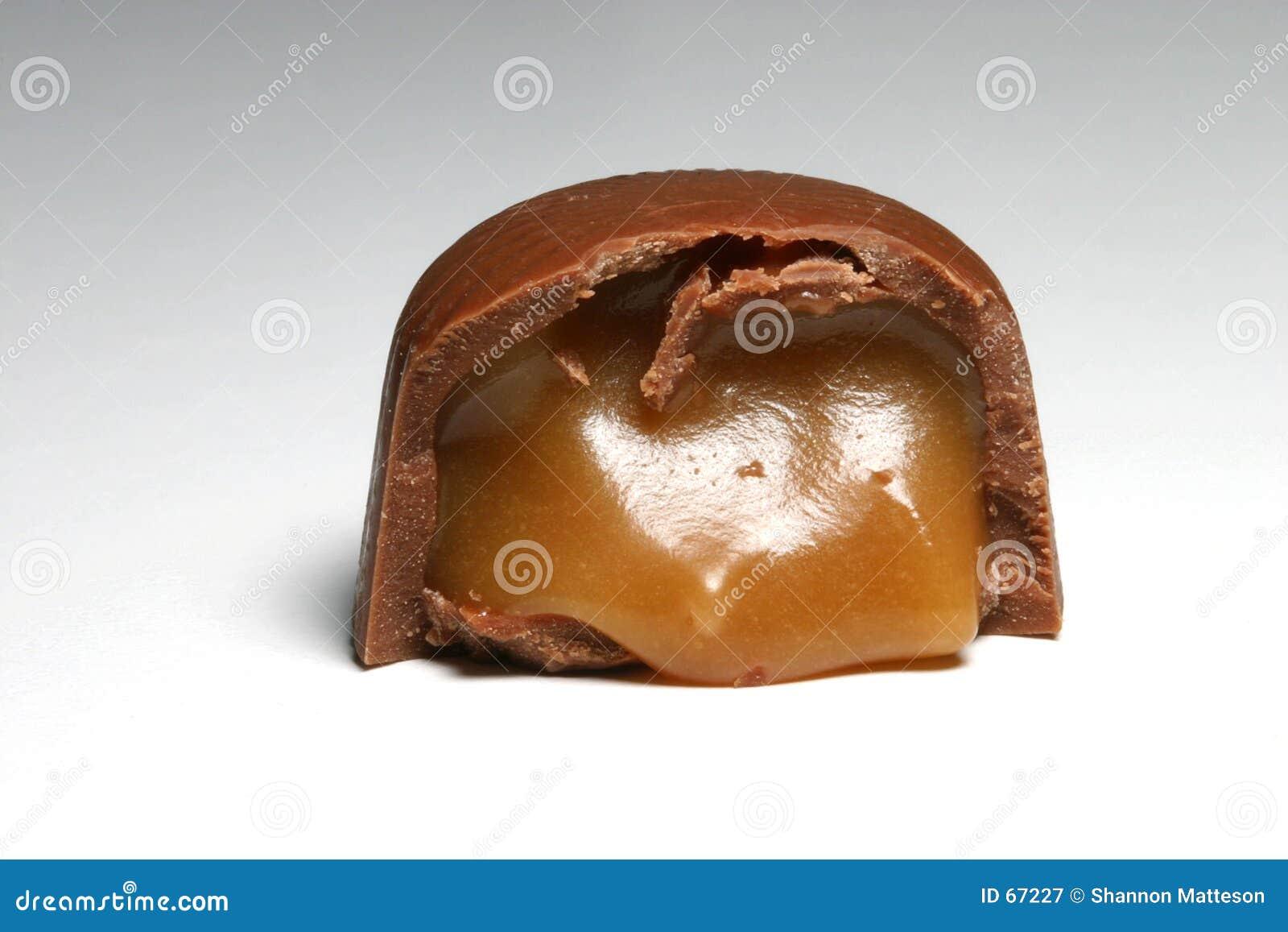 chocolade met karamel
