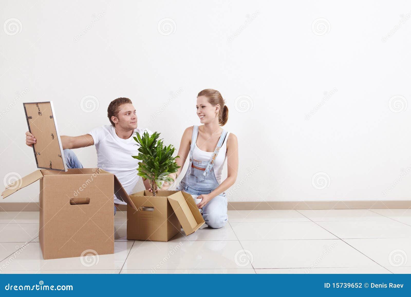 De karweien van het huishouden