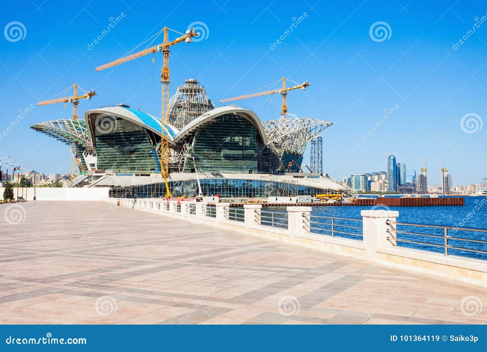 De Kaspische Wandelgalerij van de Waterkant, Baku