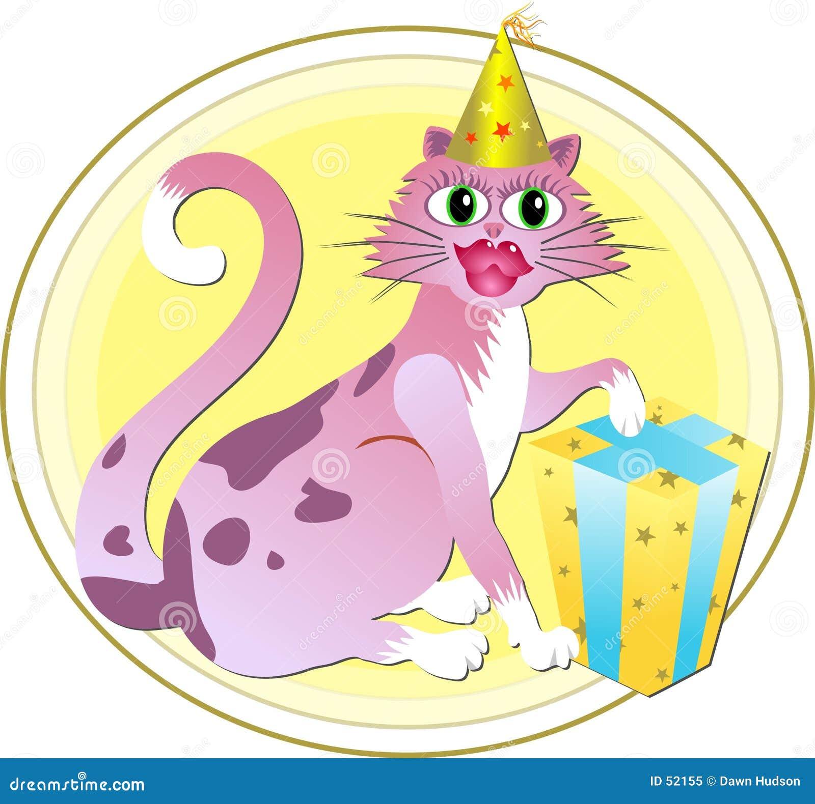 De Kat van de verjaardag